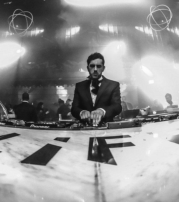 Borgore amplifying the sounds at LiFE Nightclub