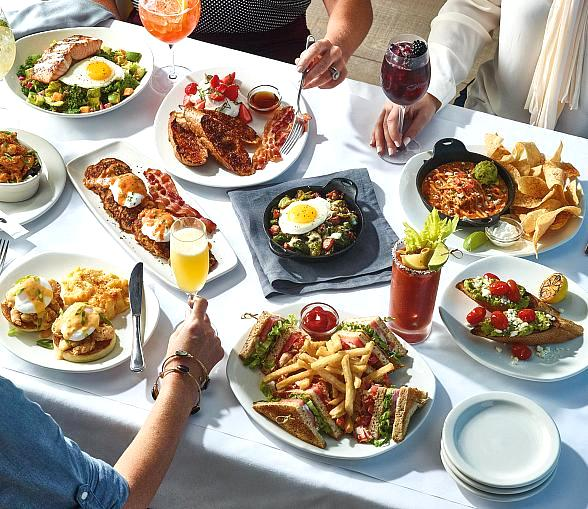 Sample Award-Winning Brunch Dishes with Mimosa for $30 at Bonefish Grill's Brunch Event March 23