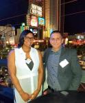 Jeff Meyer, CEO of Tuff-n-Uff (r) with Rona Hightower, Director of Operations