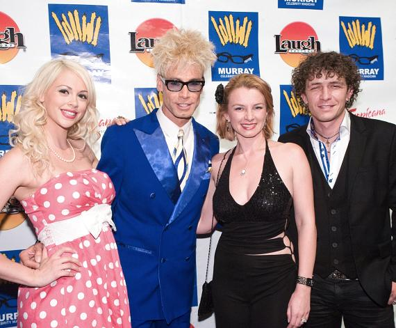 Chloe Louise, Murray Sawchuck,  Lucie and Michael Grimm