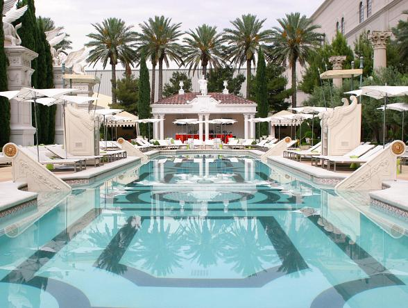 Garden of the Gods Pool Oasis at Caesars Palace