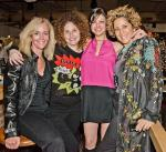 Chef Carla Pellegrino and friends at Meatball Spot grand opening