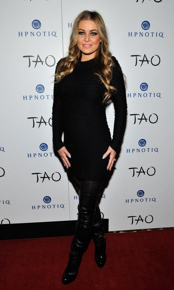 Carmen Electra Hosts TAOs Fifth Annual TAO a Go Go Contest
