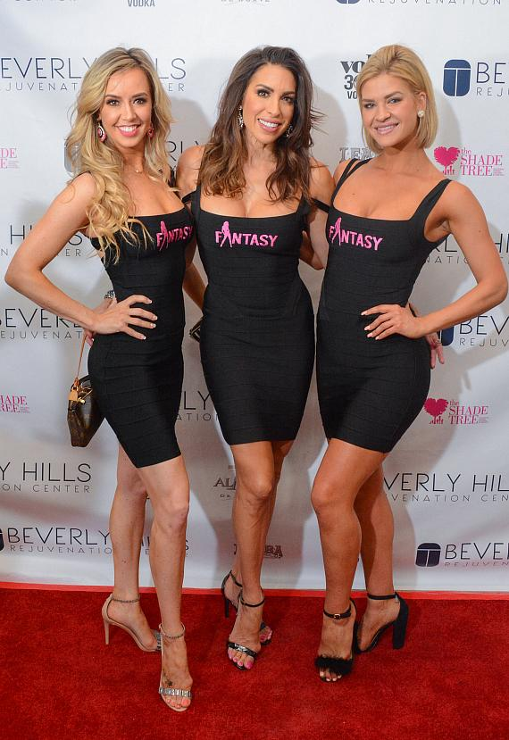 Cast of FANTASY at Beverly Hills Rejuvenation Center Downtown Summerlin's Grand Opening Event