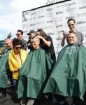 Cast of Jersey Boys supporting St Baldricks Day fundraiser for childhood cancer research at New York – New York Hotel & Casino on March 1, 2014-570