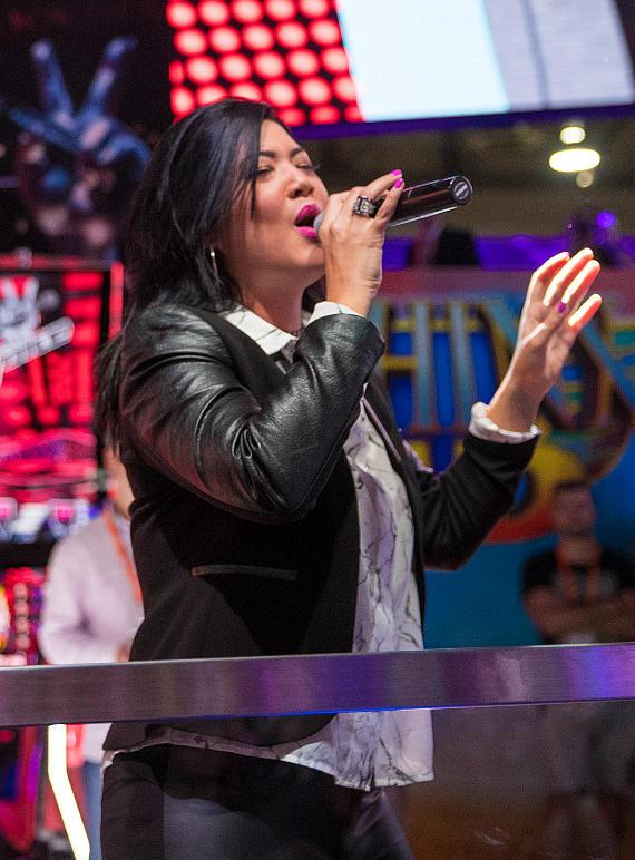 Tessanne Chin treats the audience to a performance