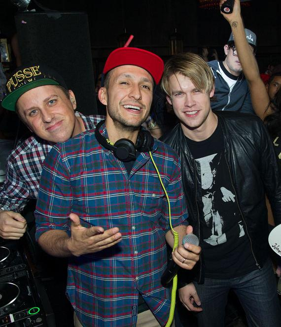 Chord Overstreet and DJ Vice at LAVO