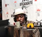 Coolio talking on-air at Rockhouse