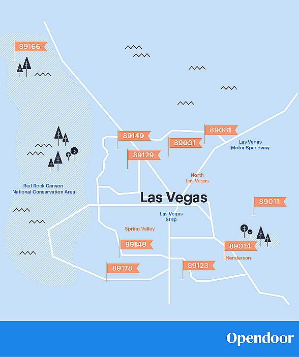 2019's 10 Hottest Neighborhoods for Las Vegas Real Estate