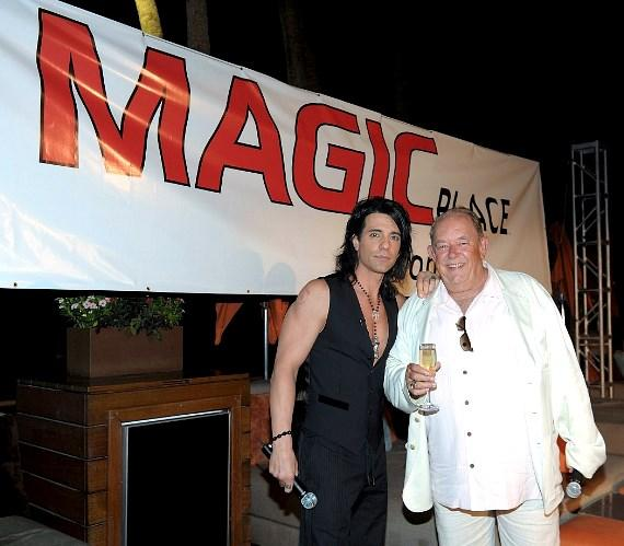 Criss Angel at MagicPlace.com launch party at Bare Pool Lounge