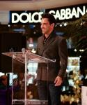 George Kostiopoulos at Fashion Gives Back 2013