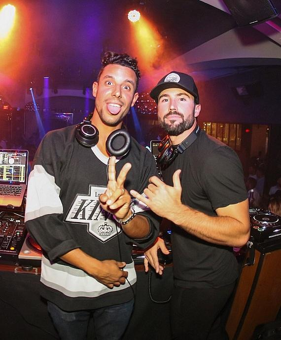 DJ Devin Lucien and Brody Jenner