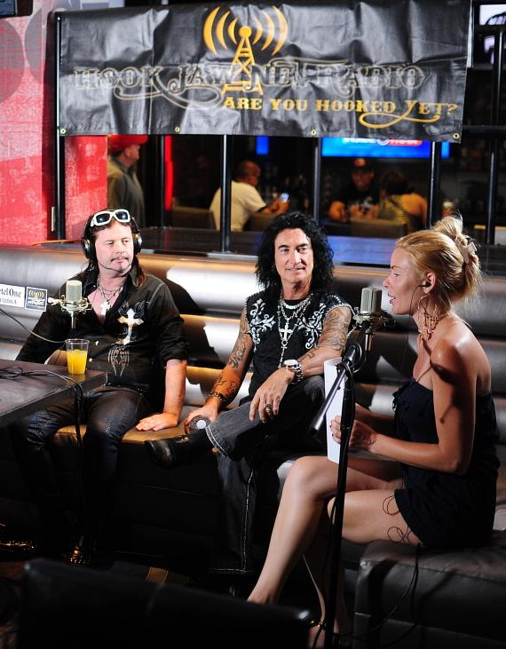 "John Payne and Robin McAuley from Raiding the Rock Vault is interview by Christina ""CC"" Christensen"