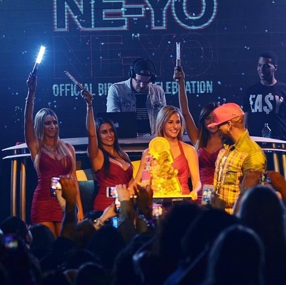 Ne-Yo celebrates birthday at Surrender Nightclub in Las Vegas