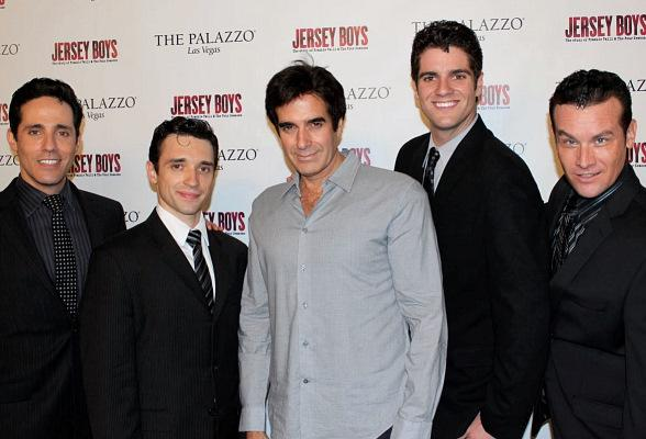 David Copperfield Attends Jersey Boys at The Palazzo