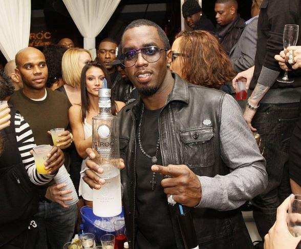"Sean ""Diddy"" Combs continues the New Year at PURE Nightclub"