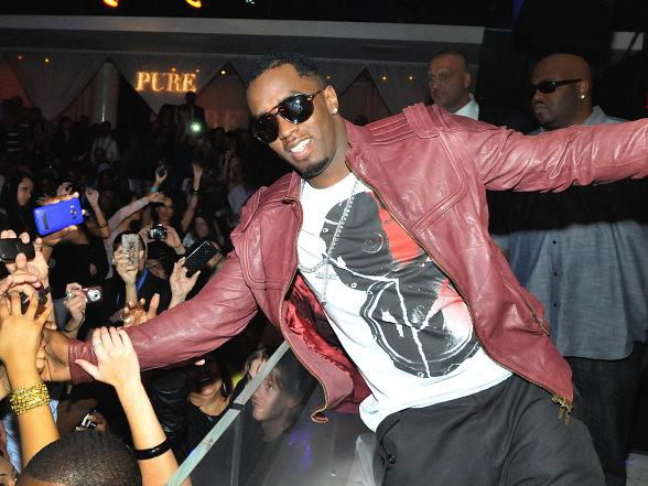 "Sean ""Diddy"" Combs Hosts After-Party at PURE Nightclub"