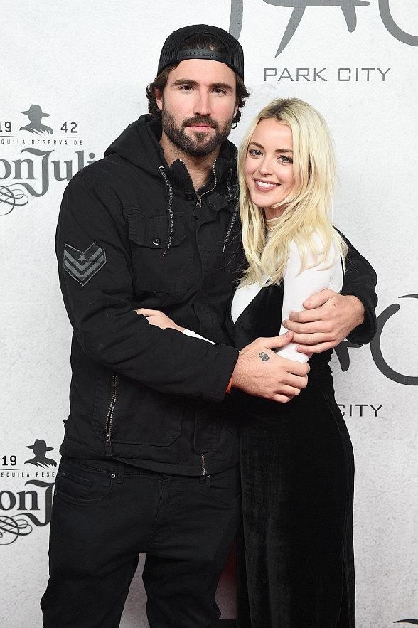 Brody Jenner and fiancé Kaitlynn Carter attend Opening Night at TAO Park City Presented by Tequila Don Julio at the Sundance Film Festival
