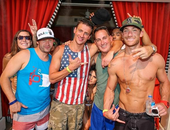 Ryan Lochte's Encore Beach Club Birthday Bash in Las Vegas