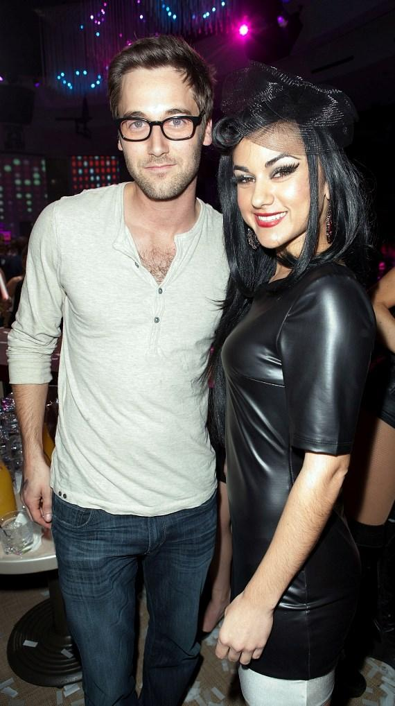 Ryan Eggold with Melody Sweets at RPM Nightclub