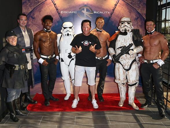 """Spotted at """"Escape Reality"""" in Las Vegas: Kendra Wilkinson, Jai Rodriguez, Anthony Cools, Frankie Moreno, Lacey Schwimmer, Chippendales and Ricardo Laguna"""