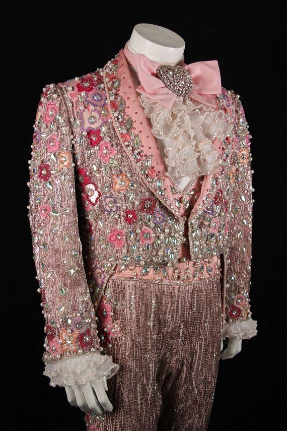 Liberace's Faberge pink suit