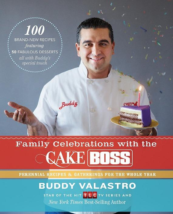 """Buddy Valastro to Sign Copies of """"Family Celebrations with the Cake Boss"""" at Buddy V's Dec. 6"""