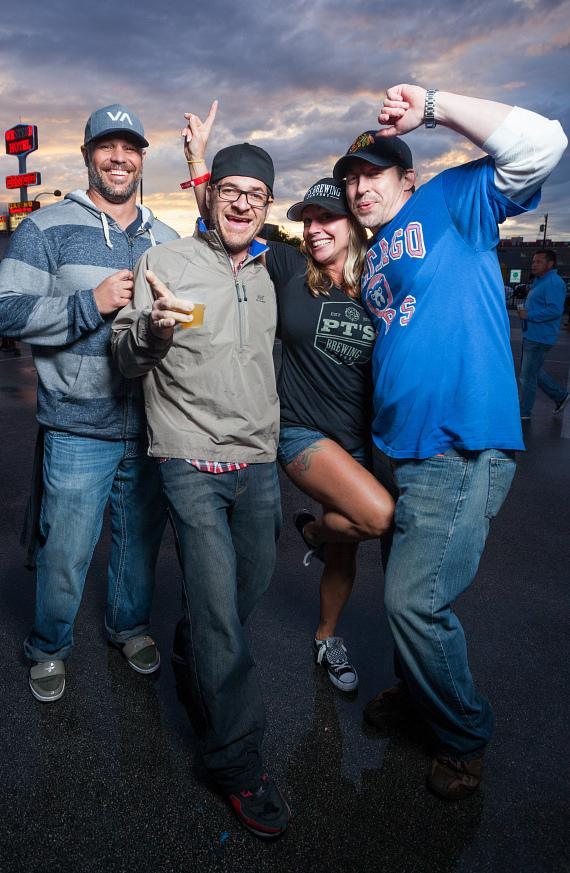 Rain or shine, Great Vegas Festival of Beer attendees enjoyed great brews all afternoon