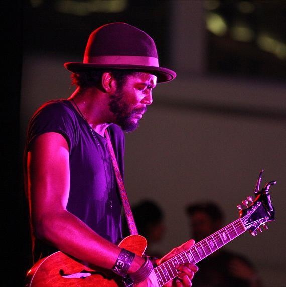Gary Clark Jr. plays the Boulevard Pool at The Cosmopolitan of Las Vegas