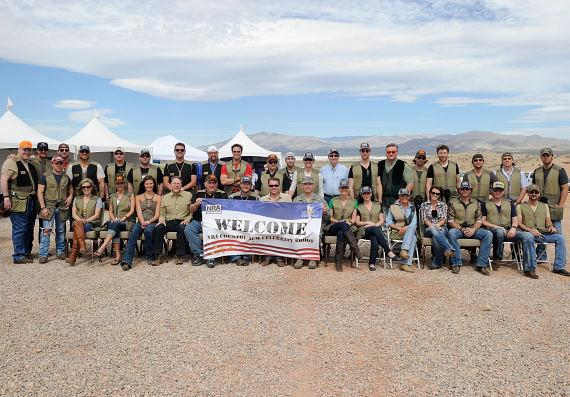 NRA Country/ACM Celebrity Shoot participants
