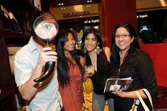Guests of Assouline's Brazilian themed Fashion's Night Out