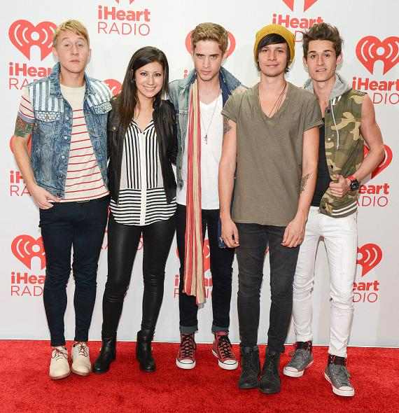 Josh Montogmery, Jess Bowen, Brian Logan Dales, Stephen Gomez and John Gomez of The Summer Set