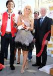 Holly Madison cuts the ribbon at 2nd Annual Nevada Wild Fest at the Henderson Pavilion