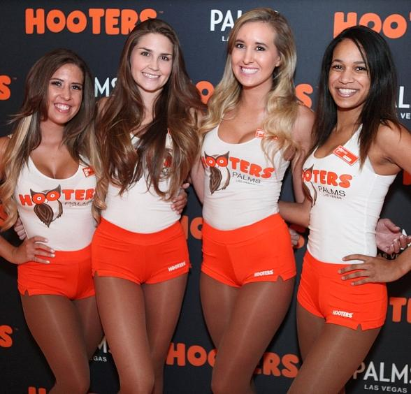 Hooters Girls at Palms Casino Resort