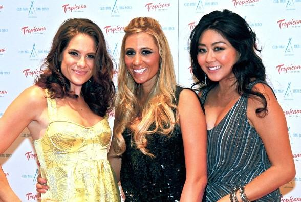 Professional Poker Players, Tiffany Michelle, Vanessa Rousso and Maria Ho