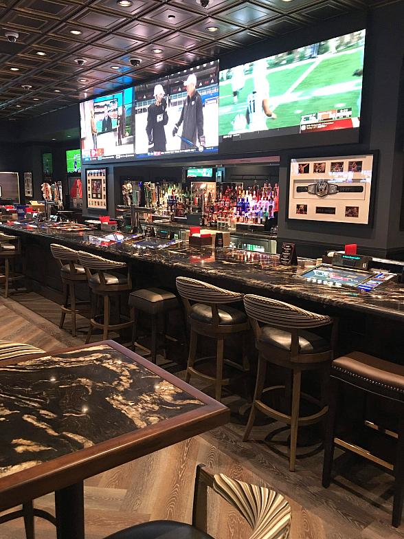 Treasure Island Debuts Golden Circle Sports Bar