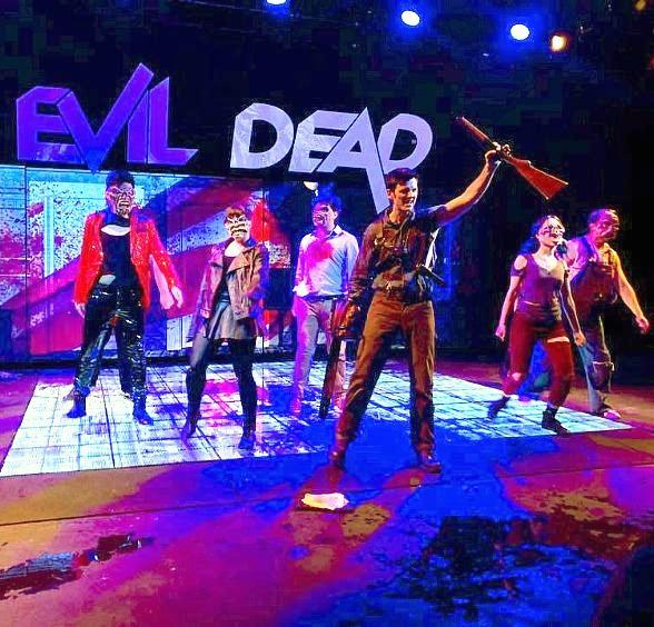 "Groovy! The Space Adds ""Evil Dead The Musical HD"" to Fall Performances"