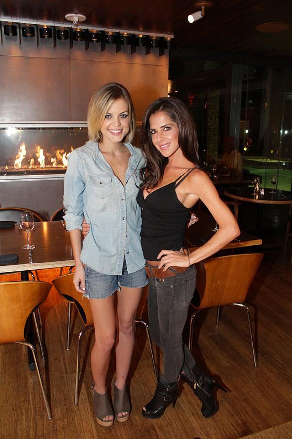 General Hospital's Kelly Monaco and Kirsten Storms Dine at Simon at Palms Place