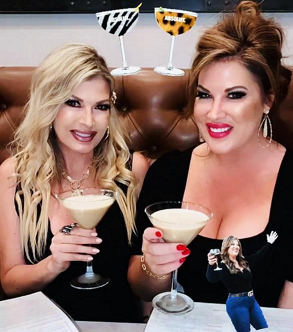 """""""Real Housewives of Orange County"""" Star Emily Simpson Enjoys a Fun-Filled Weekend in Las Vegas"""