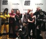 """Aaron Turner and former """"So You Think You Can Dance"""" contestants visit Jabbawockeez show in Las Vegas"""
