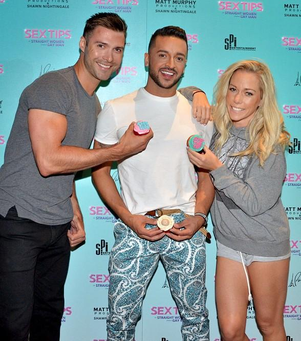 """Jai Rodriguez's Birthday Celebration at """"Sex Tips for Straight Women from a Gay Man"""" at Paris Las Vegas"""