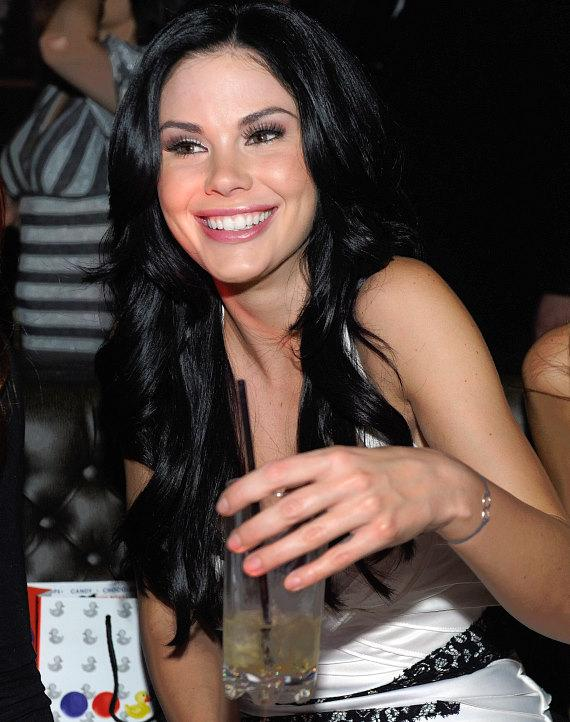 Jayde Nicole enjoying her night at Gallery Nightclub in Las Vegas