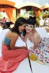 Jessica Szohr and Krysten Ritter at TAO Beach