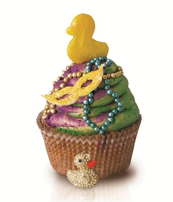Sugar Factory will Let The Good Times Roll with Mardi Gras-Inspired King Cupcakes