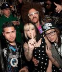 Kreayshawn and V-Nasty with Redfoo