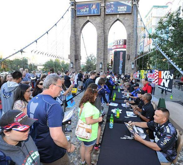 NHRA Fanfest to kick off Denso Spark Plugs NNHRA Nationals in Las Vegas