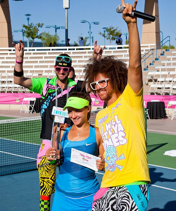 """Pop Music Icon and Tennis Pro Redfoo Signs on to Vegas Rollers as the Team's """"Ace"""""""