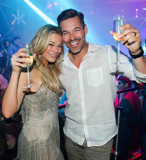 Country Star LeAnn Rimes and Husband Eddie Cibrian Spotted Enjoying Night Out at Hakkasan Las Vegas