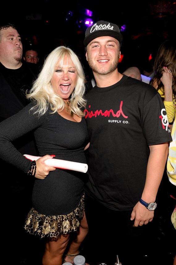 Linda and Nick Hogan at LAVO