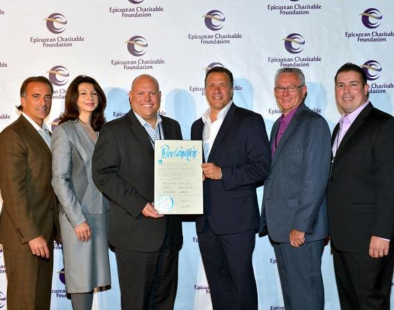 "ECF Executive Committee receives ""ECF Day"" proclamation"